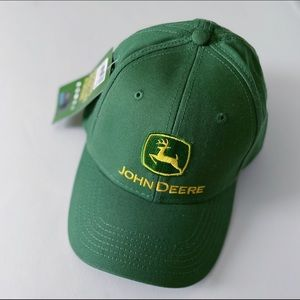 Official licensed John Deer embroidered logo hat